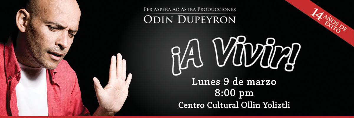 ¡A VIVIR! DE ODIN DUPEYRON