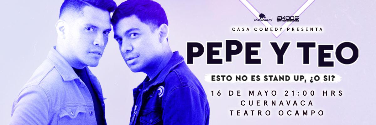 PEPE Y TEO ESTO NO ES STAND UP ¿O SI? - M&G