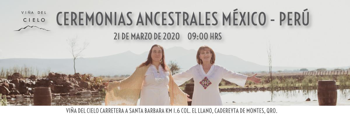 CEREMONIAS ANCESTRALES MEXICO - PERU