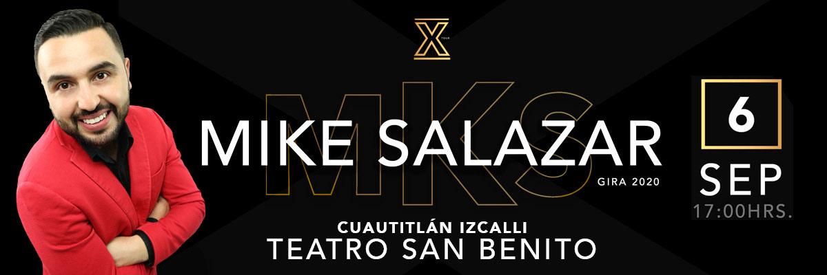 MIKE SALAZAR EL CABALLERO DE LA COMEDIA