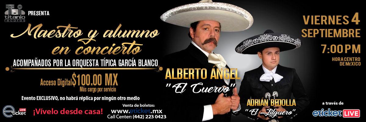 ALBERTO ANGEL EL CUERVO - MAESTRO Y ALUMNO EN CONCIERTO