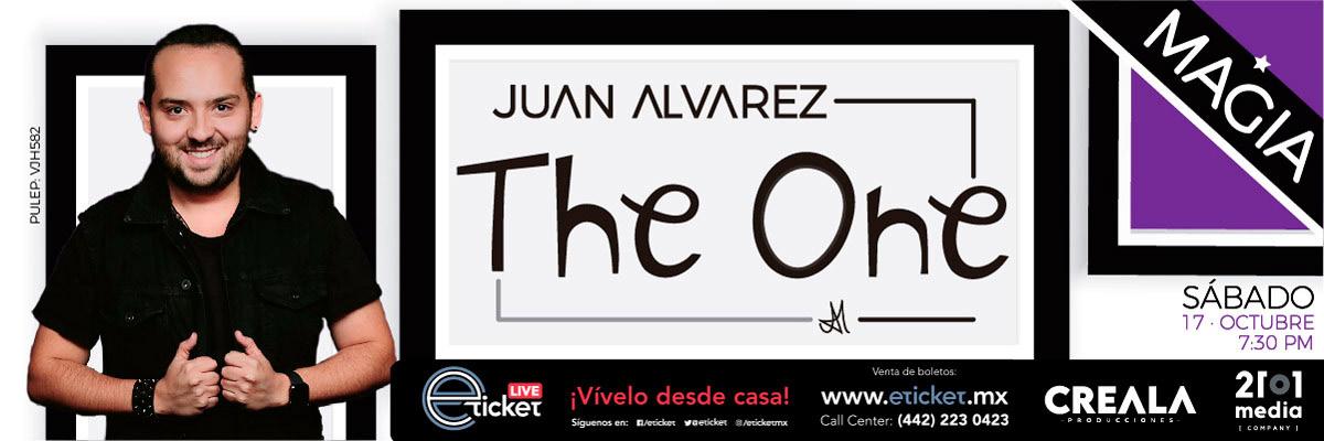 JUAN ALVAREZ EN THE ONE SHOW : UNA EXPERIENCIA LLENA DE MAGIA E ILUSIÓN