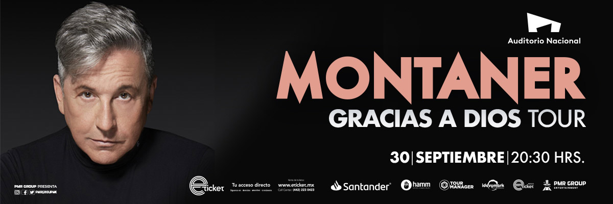 MONTANER GRACIAS A DIOS TOUR