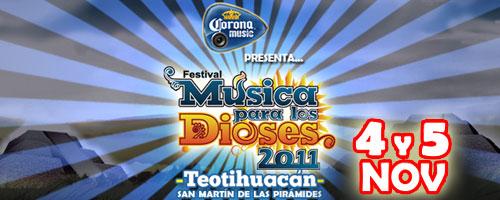 FESTIVAL MUSICA PARA LOS DIOSES 2011