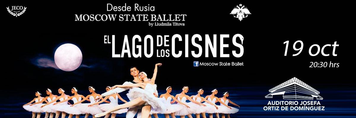 MOSCOW STATE BALLET EL LAGO DE LOS CISNES