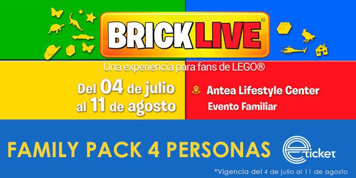 BRICKLIVE - FAMILY PACK